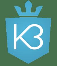 Kauklahden Kuntoklubi K3 logo